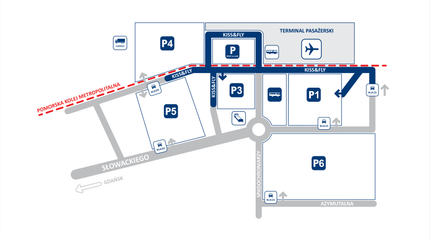Plan parkingów