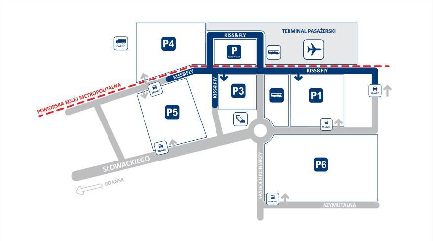 Plan parkingów
